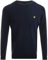 Lyle & Scott Crew Neck Knit Jumper Navy