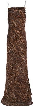 CAMI NYC The Carla Leopard-print Silk-chiffon Maxi Dress