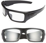 Oakley Men's Det Cord 61Mm Sunglasses - Black/clear