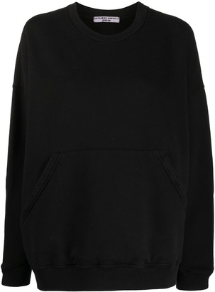 Katharine Hamnett Relaxed Fit Front Pocket Sweatshirt