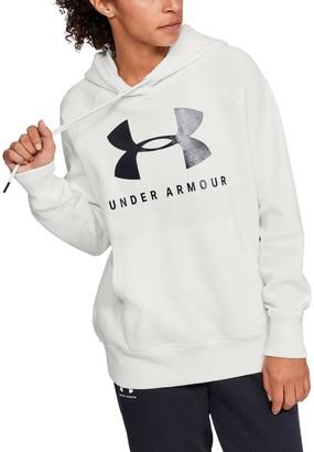 Under Armour Women's UA Rival Fleece Sportstyle Graphic Hoodie