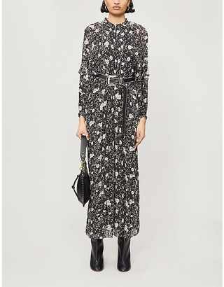 Etoile Isabel Marant Estine floral-print crepe maxi dress