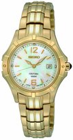 Seiko Women's SXDC94 Quartz Stainless Steel Dial Watch