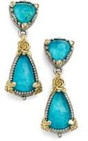 Konstantino Women's 'Iliada' Double Drop Earrings