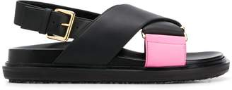 Marni Fussbett two-tone sandals