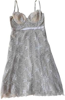Liu Jo Liu.jo Beige Lace Dress for Women
