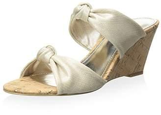 Donald J Pliner Women's Knotted Wedge Slide