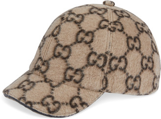 Gucci Children's GG wool baseball hat