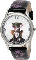 Disney Women's Alice in Wonderland Mad Hatter Dial Strap Watch AL1008
