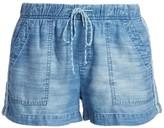 Bella Dahl Trimmed Pocket Shorts