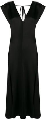 Victoria Beckham Bias Cut Maxi Dress