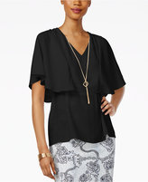 Thalia Sodi Necklace Cape Top, Only at Macy's