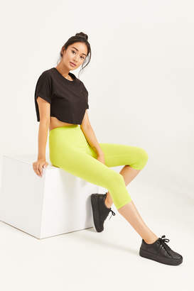 Ardene Basic Neon Cropped Leggings