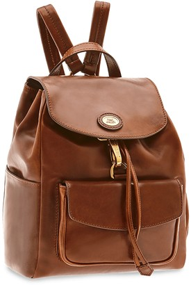 The Bridge Story Donna Genuine Leather Backpack w/Front Pocket