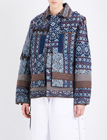 Craig Green Decorative-print cotton and wool-blend jacket