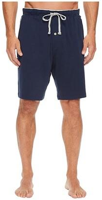 Nautica Knit Sleep Shorts (Maritime Navy) Men's Pajama