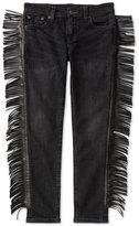 Ralph Lauren Western Fringe Skinny Jeans, Big Girls (7-16)