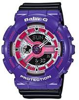Casio Baby-G – Women's Analogue/Digital Watch with Resin Strap – BA-110NC-6AER