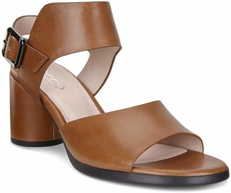 Ecco Women's Shape 65 Block Strap Heeled Sandal