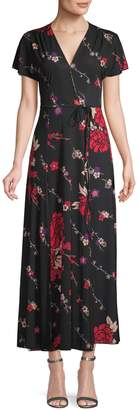 French Connection Floral Knee-Length Dress