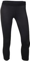 Soffe Black Performance Crop Pants