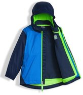 The North Face Stormy Rain Triclimate® Hooded Jacket, Blue, Size 2-4T