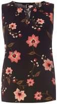 Vero Moda **Vero Moda Black Floral Print Shell Top