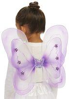 Kids Purple Fairy Costume Wings