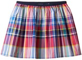 Polo Ralph Lauren Yarn-Dyed Poplin Plaid Skirt (Little Kids)