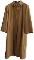 Allegri Khaki Cotton Trench Coat for Women Vintage