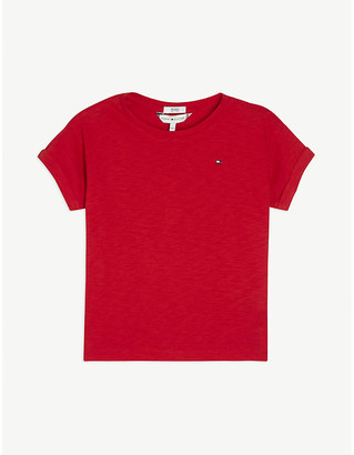 Tommy Hilfiger Sequin logo T-shirt 4-14 years