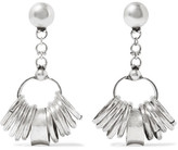 Dannijo Castor Oxidized Silver-plated Earrings - one size