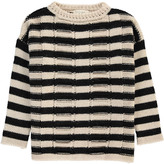 Sessun Striped Mohair Lady Pirate Oversized Pullover