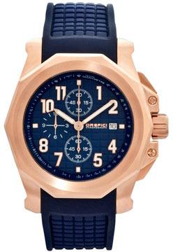 Orefici Watches Galante Chronograph Watch, Blue