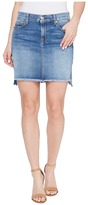 7 For All Mankind Pencil Skirt w/ Step Hem in Vintage Air Classic Women's Skirt