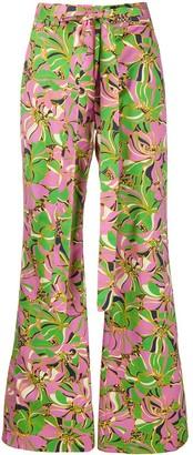La DoubleJ x Mantero wide leg trousers