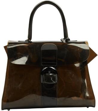 Delvaux Le Brillant Brown Plastic Handbags