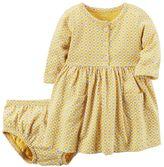 Carter's Baby Girl Print Knit Dress