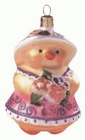 Hallmark QEO8469 Spring Chick 1999 Blown Glass Keepsake Ornament