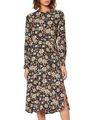 Warehouse Women's Autumn Daisy Midi Dress
