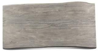 Loon Peak Liverpool 79 x 40 Table Top Loon Peak Color: Sandblasted Gray