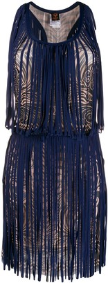 Jean Paul Gaultier Pre-Owned 2000s swirl print dress