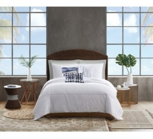 Sean John Pleated Denim Twin/Twin Xl Comforter Set Bedding