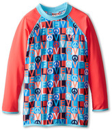 TYR Peace & Love Rashguard (Little Kids/Big Kids)