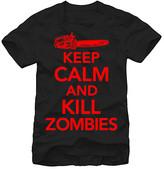 Fifth Sun Men's Tee Shirts Black - Black 'Keep Calm and Kill Zombies Tee' - Men