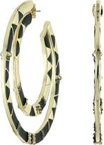 House Of Harlow Nelli Large Hoop Earrings