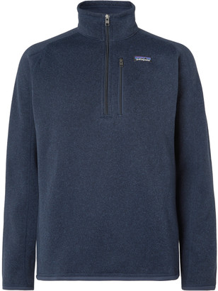 Patagonia Better Sweater Fleece-Back Knitted Half-Zip Sweatshirt