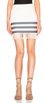 CHRISTOPHER ESBER Tailored Tassel Mini Skirt