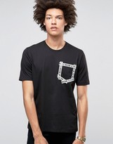 Love Moschino Taped Pocket T-shirt