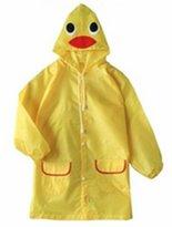 Viskey Waterproof Children Funny Cartoon Raincoat
